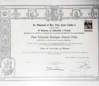 Título de Licenciado en Derecho